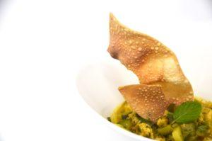 Curry di pollo e zucchine al latte di cocco