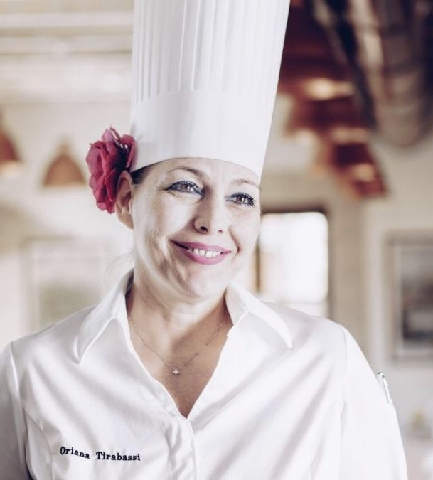 Oriana Tirabassi Executive Chef dell'Aleph Rome Hotel