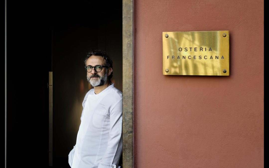 Massimo Bottura e la sua Osteria Francescana!