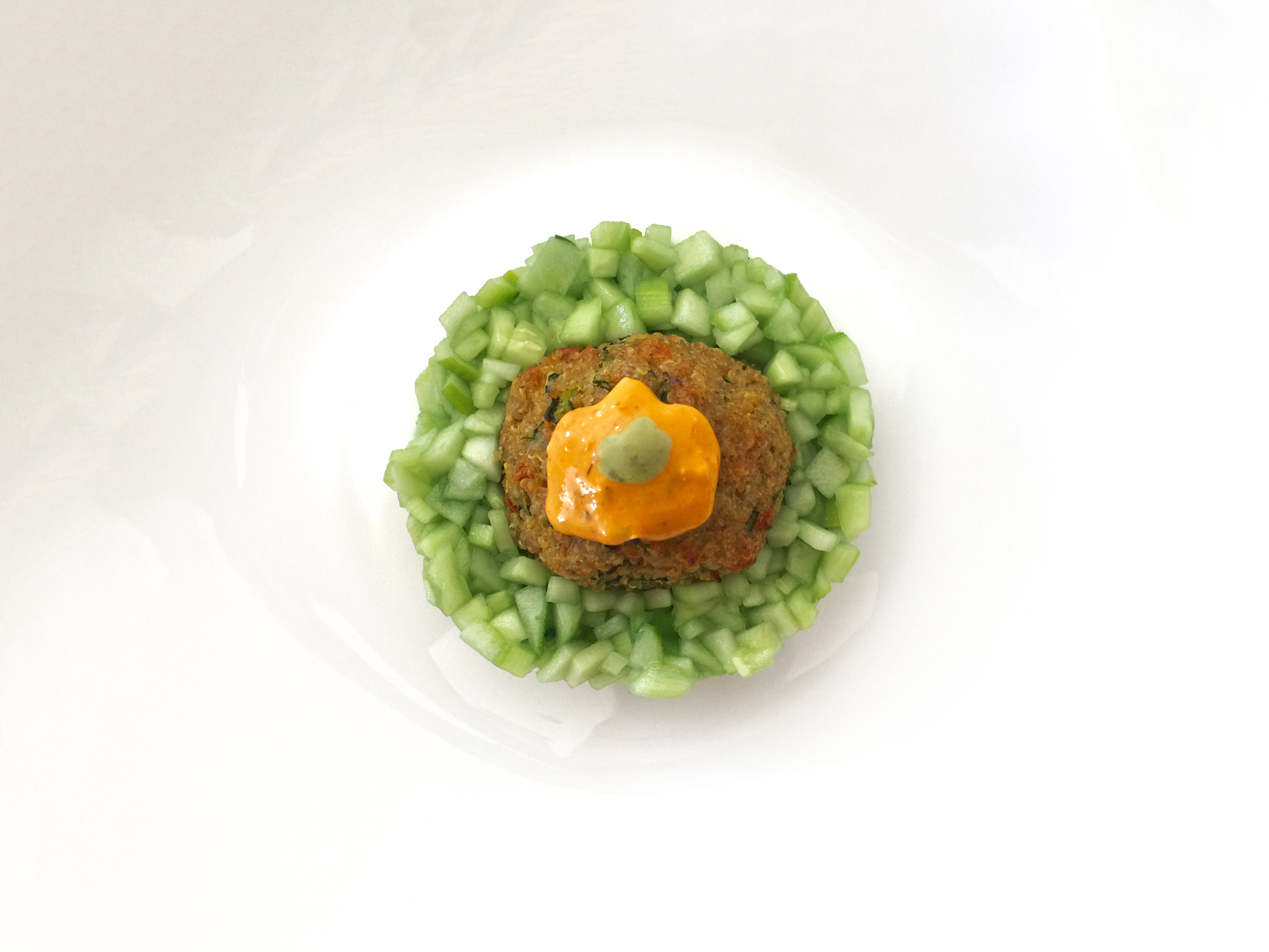 Falafo - Il Falafel estratto dal cuore delle verdure fresche