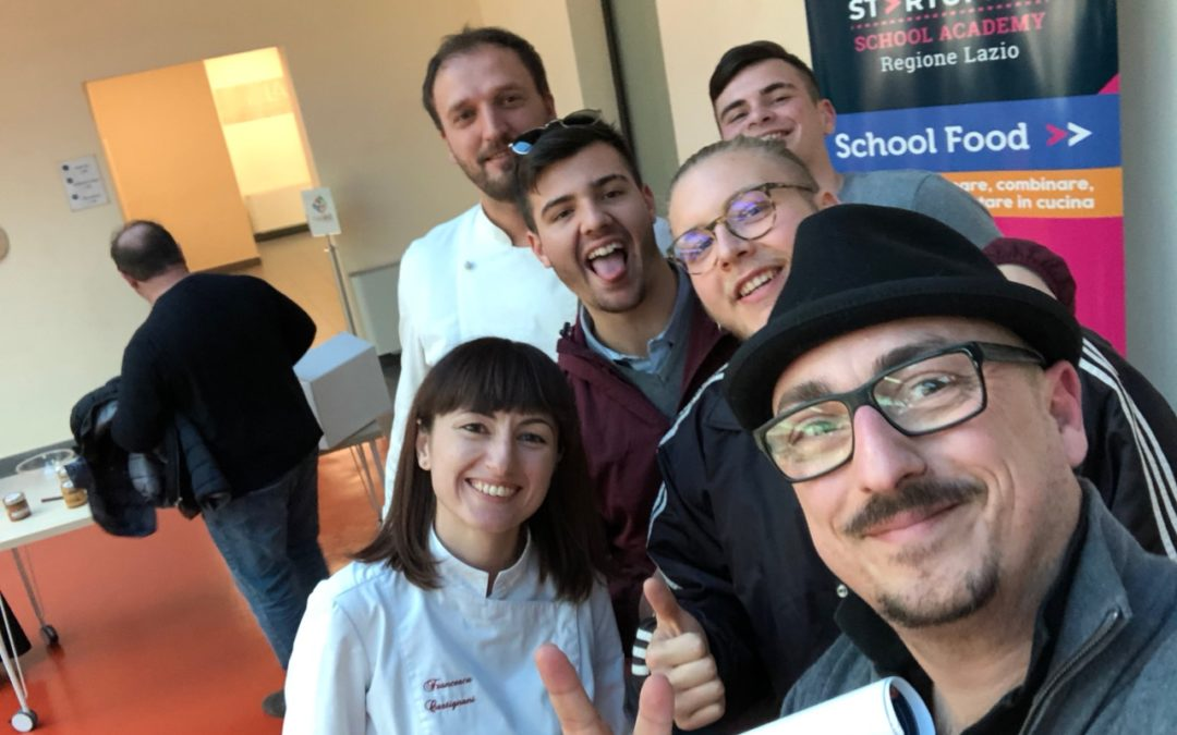 Piattoriccomicificco presente al concorso Startupper School Food